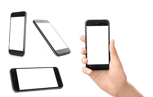 Verschiedene mobile Geräte