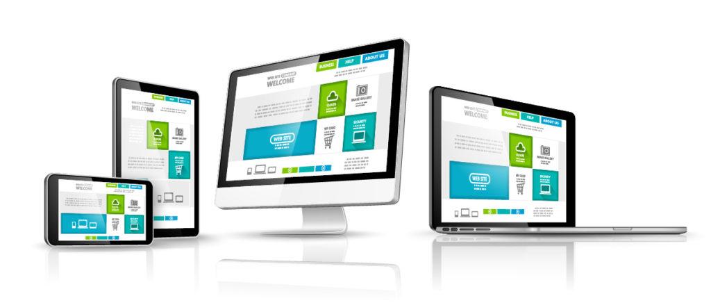 Verschiedene Bildschirme - Responsive Webdesign
