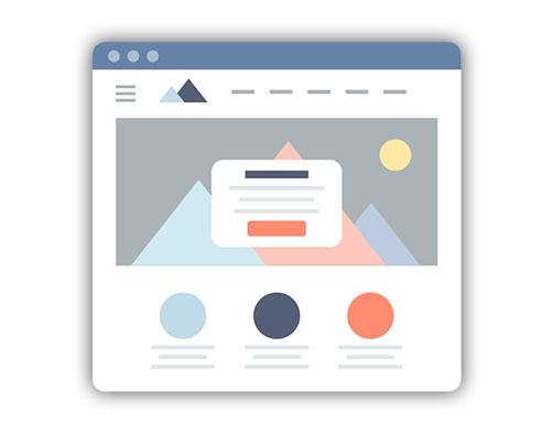 Gestaltung Ihrer Website