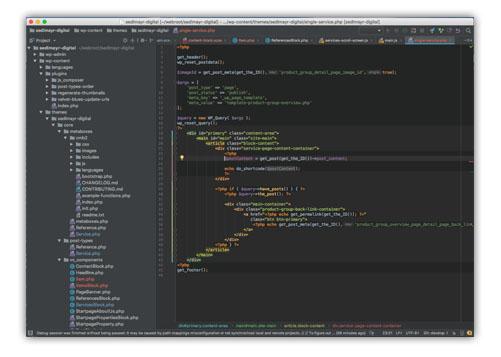 Programmiercode Ihrer Website